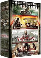 Hercule - La vengeance d'un dieu + La dernière bataille de Genghis Khan + Prince Yaroslav + Guerre des empires