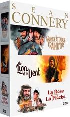 Sean Connery : La Grande attaque du train d'or + La Rose et la flèche + Le Lion et le vent