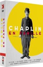 Chaplin en famille - Le dictateur + Les temps modernes + La ruée vers l'or + Le cirque + The Kid