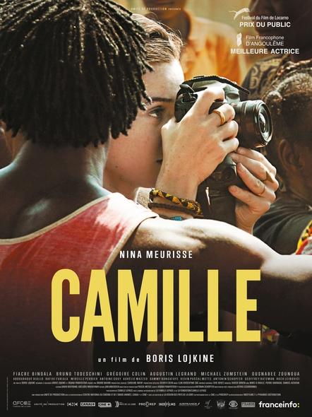 Camille / Boris Lojkine, réal. ; Nina Meurisse, Fiacre Bindala, Bruno Todeschini, act. |