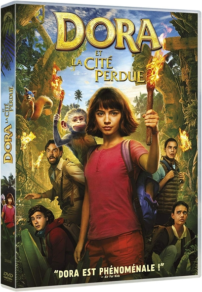 Dora et la cité perdue . DVD = Dora and the Lost City of Gold / James Bobin, réal.  | Bobin , James . Metteur en scène ou réalisateur
