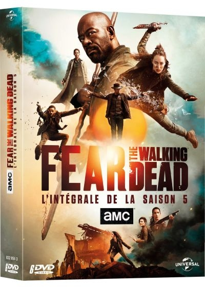 Fear the walking dead : DVD 4 à 6 = Fear the Walking Dead - Season 5 | E. Satrazemis, Michael. Réalisateur