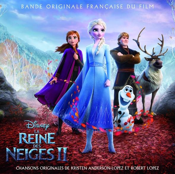 La reine des neiges II : bande originale française du film | Robert Lopez (1975-....). Compositeur