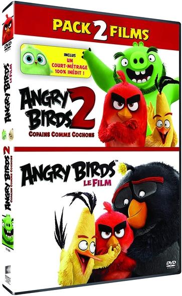 Angry Birds + Angry Birds 2 - Copains comme cochons = The Angry Birds Movie + The Angry Birds Movie 2 | Reilly, Fergal. Metteur en scène ou réalisateur