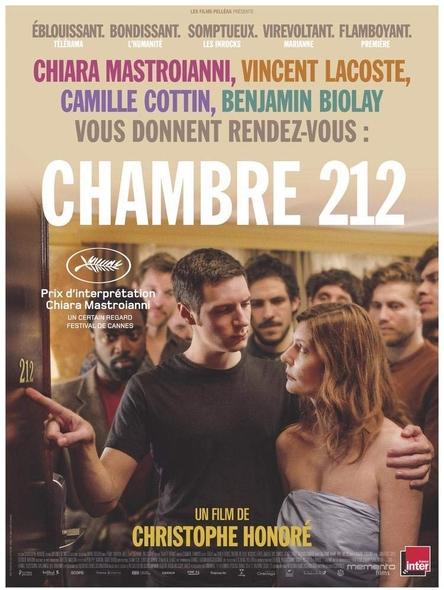 Chambre 212 | Honoré, Christophe. Réalisateur