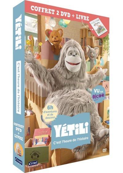 Yétili : C'est l'heure de l'histoire / Série animée de Séverine Lebrun | Gégauff-Lebrun , Séverine . Auteur
