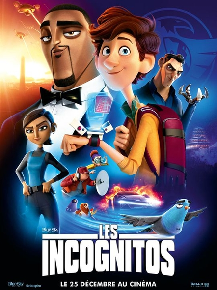 Incognitos (Les) = Spies in Disguise | Bruno, Nick. Réalisateur