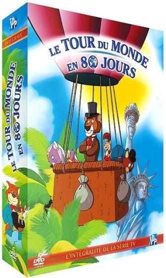 Le Tour du monde en 80 jours : Episodes de 7 à 11 / Série animée de Fumio Kurokawa et Luis Ballester Bustos    Kurokawa, Fumio. Metteur en scène ou réalisateur
