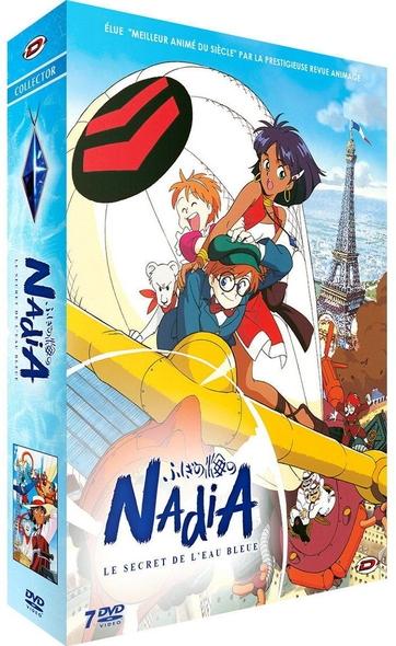 Nadia : Le secret de l'eau bleue : épisodes 1 à 12 / série animée de Hideaki Anno et Shinji Higuchi  | Anno , Hideaki . Metteur en scène ou réalisateur. Scénariste