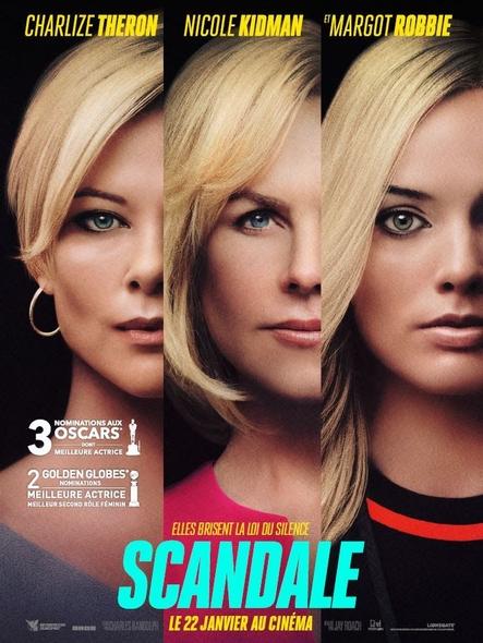 Scandale = Bombshell / Jay Roach, réal.  | Roach, Jay. Metteur en scène ou réalisateur