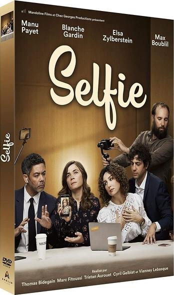 Selfie / Thomas Bidegain, Marc Fitoussi, Tristan Aurouet, [et al], réal. ; Manu Payet, Blanche Gardin, Elsa Zylberstein, [et al], act. |