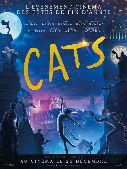 Cats . DVD / Tom Hooper, réal.  | Hooper, Tom. Scénariste