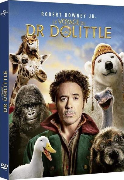Le Voyage du Dr Dolittle . DVD = Dolittle / Stephen Gaghan, réal.  | Gaghan, Stephen. Scénariste