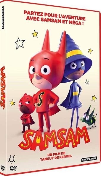 SamSam / Film d'animation de Tanguy de Kermel  | Kermel, Tanguy de. Metteur en scène ou réalisateur
