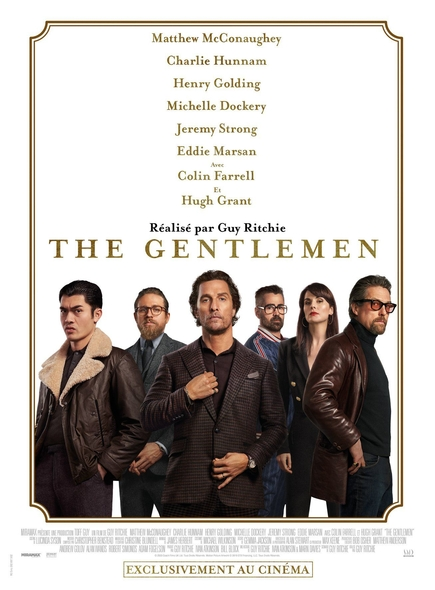 The Gentlemen / Film de Guy Ritchie  | Ritchie, Guy. Metteur en scène ou réalisateur. Scénariste