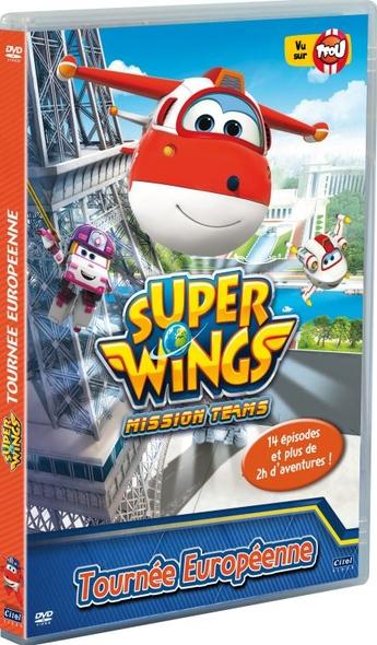 Super Wings : Saison 3 : Mission Teams - Tournée européenne / Série animée de Kim Jin-Yong  |