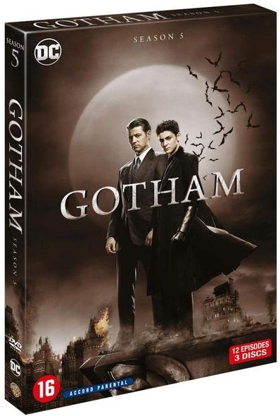 Gotham : 3 DVD. | Cannon, Danny. Réalisateur
