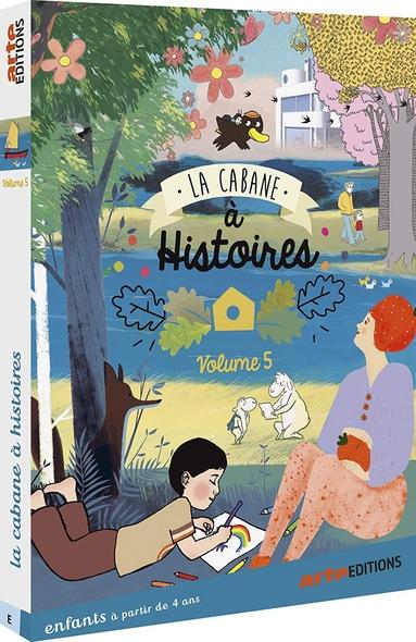 La Cabane à histoires : Vol.5 / Série animée de Célia Rivière  | Rivière, Célia. Metteur en scène ou réalisateur. Scénariste