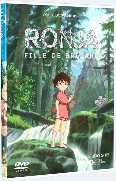Ronja, fille de brigand : Épisodes 1 à 6 = Ronya fille de brigand / Série animée de Goro Miyazaki  | Miyazaki , Goro . Metteur en scène ou réalisateur
