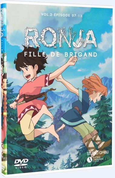 Ronja, fille de brigand : Épisodes 7 à 13 = Ronya fille de brigand / Série animée de Goro Miyazaki  | Miyazaki , Goro . Metteur en scène ou réalisateur