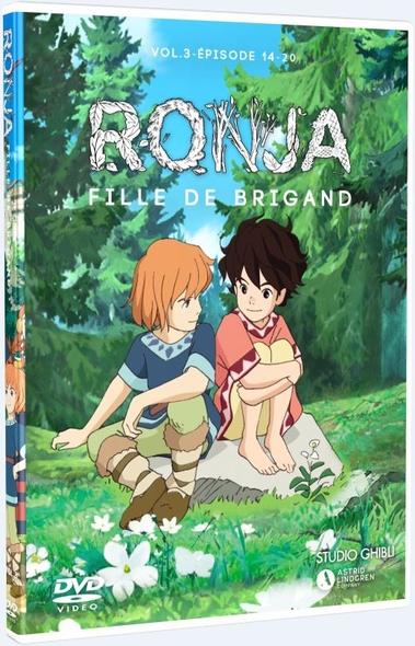 Ronja, fille de brigand : Épisodes 14 à 20 = Ronya fille de brigand / Série animée de Goro Miyazaki  | Miyazaki , Goro . Metteur en scène ou réalisateur