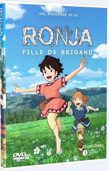 Ronja, fille de brigand : Épisodes 21 à 26 = Ronya fille de brigand / Série animée de Goro Miyazaki  | Miyazaki , Goro . Metteur en scène ou réalisateur