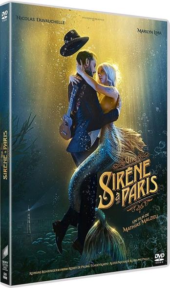 Une sirène à Paris / Film de Mathias Malzieu  | Malzieu, Mathias. Metteur en scène ou réalisateur. Antécédent bibliographique