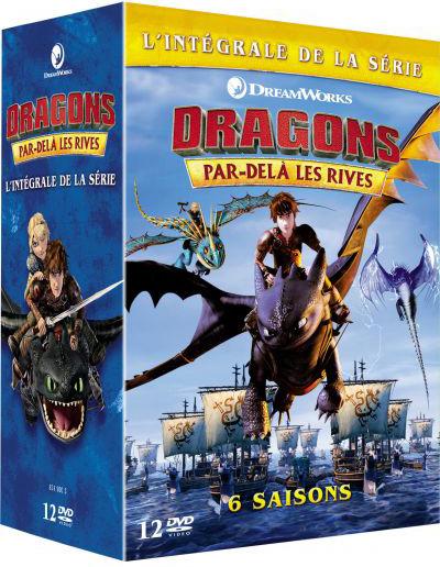 Dragons . DVD : Par-delà les rives . Saison 4 = Dragons: Race to the Edge   