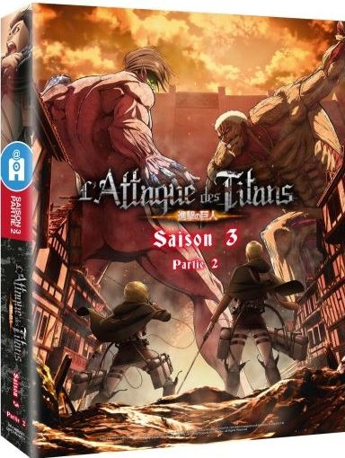 Attaque des Titans (L') : partie 2. Saison 3 = Shingeki no Kyojin |