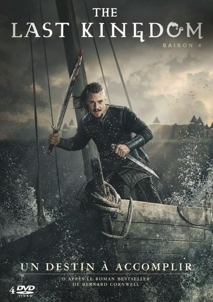 The Last Kingdom : 4 DVD = The Last Kingdom - Season 4 | Bazalgette, Edward. Réalisateur