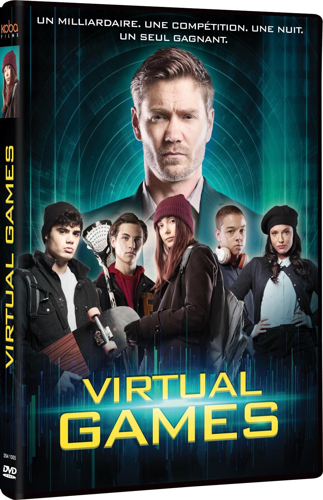 Virtual Games / Sean Olson, réal.  | Olson , Sean . Metteur en scène ou réalisateur