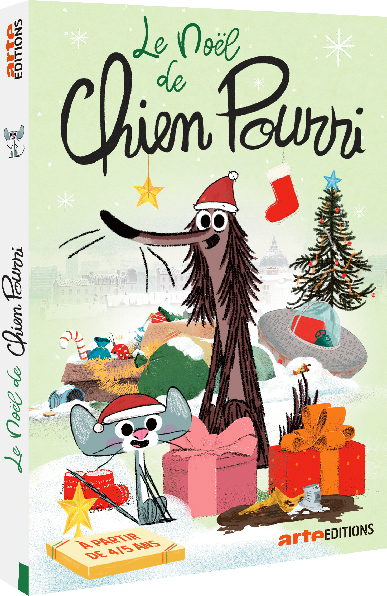 Le Noël de Chien Pourri / Série animée de Davy Durant | Durant , Davy . Metteur en scène ou réalisateur. Scénariste