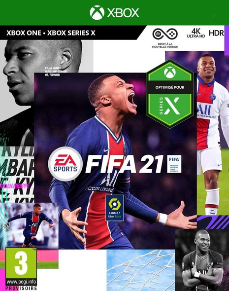 Fifa 21 - XBOX ONE - XBOX SERIES X : Edition Standard  |