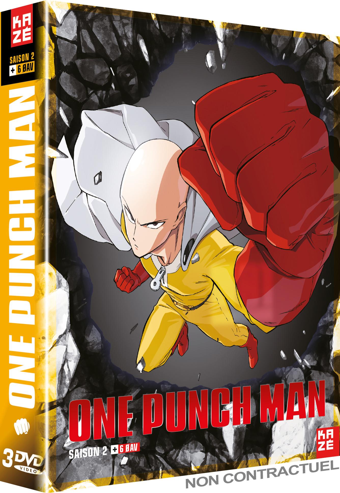 One Punch Man. L'Intégral de la saison 2 | Natsume, Shingo. Metteur en scène ou réalisateur