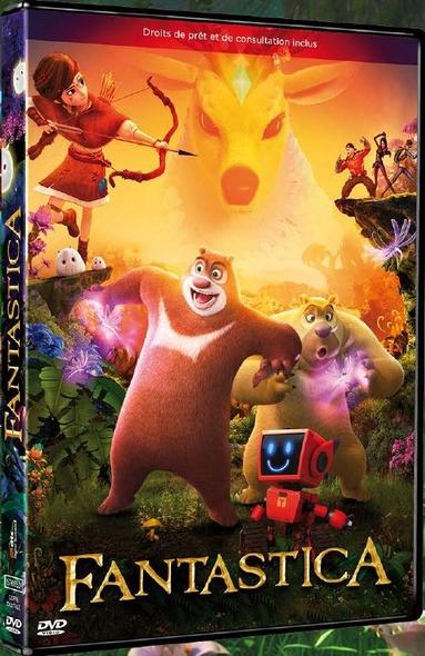 Fantastica . DVD : La grande aventure = Xióng Chu Mò Zhi Qí Huàn Kong Jian / Leon Ding, Huida Lin, Yongchang Lin, réal.   