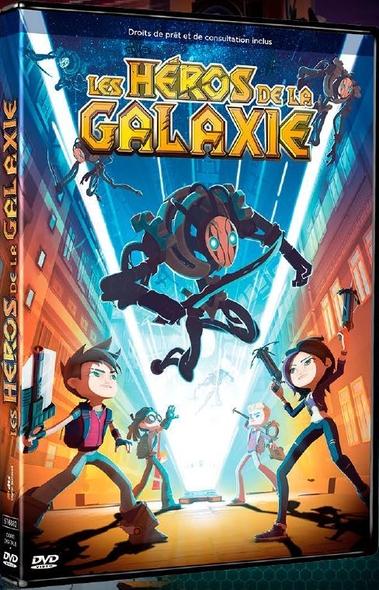 Les Héros de la galaxie / Film d'animation de Anton Lanshakov    Lanshakov , Anton . Metteur en scène ou réalisateur. Scénariste