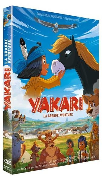 Yakari : la grande aventure / Dessin animé de Xavier Giacometti et Toby Genkel  | Giacometti, Xavier. Metteur en scène ou réalisateur. Scénariste. Dialoguiste