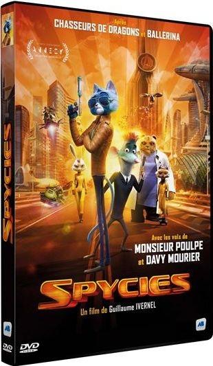Spycies . DVD / Guillaume Ivernel, réal.   