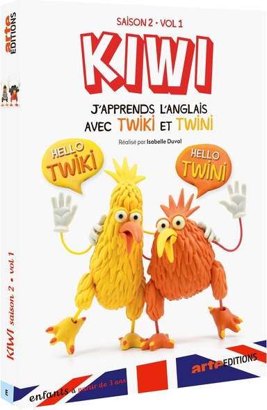 Kiwi - J'apprends l'anglais avec Twiki et Twini. Saison 2 - Volume 1  