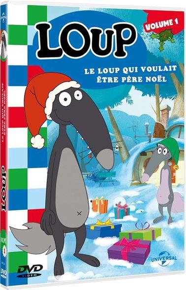 Loup : Le Loup qui voulait être Père Noël / Série animée de Paul Leluc et Wassim Boutaleb    Leluc, Paul. Metteur en scène ou réalisateur