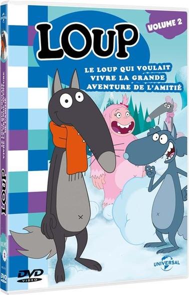Loup : Le loup qui voulait vivre la grande aventure de l'amitié / Dessins animés de Paul Leluc et Wassim Boutaleb    Leluc, Paul. Metteur en scène ou réalisateur