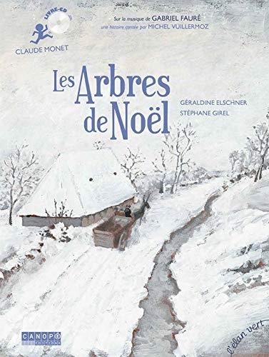Les arbres de Noël - Claude Monet