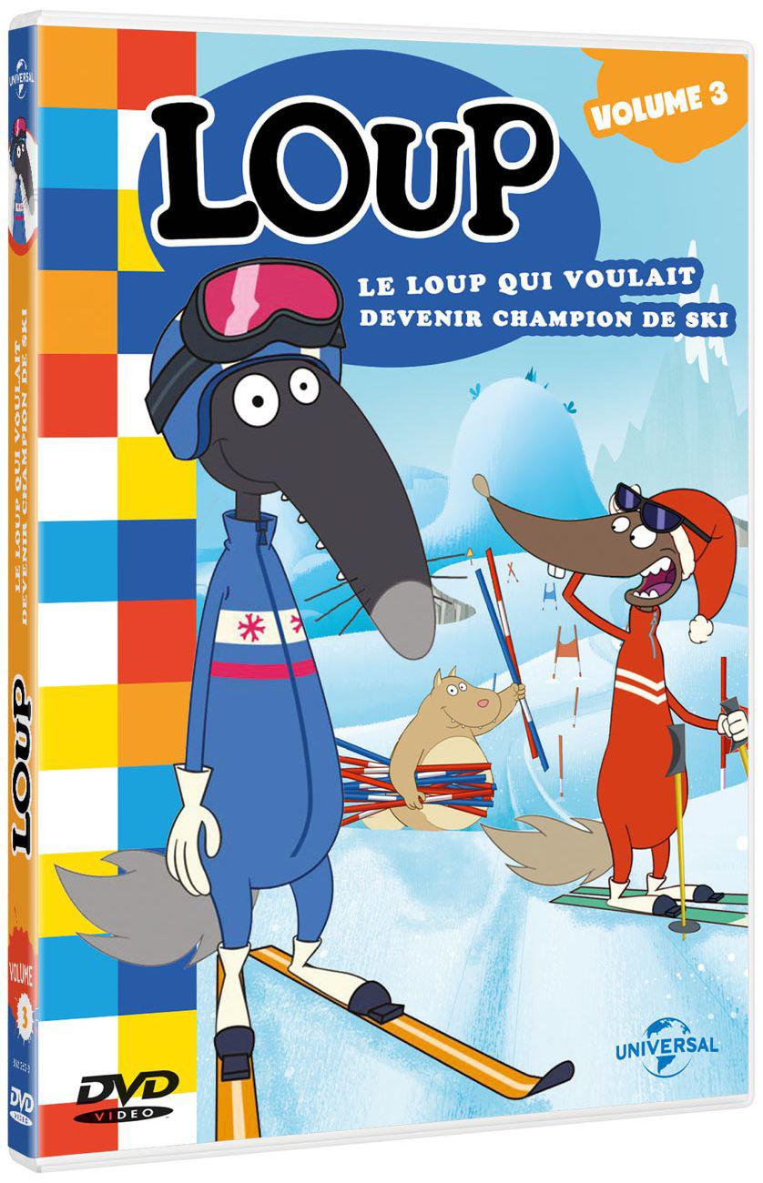 Loup : Le loup qui voulait devenir champion de ski / Série animée de Paul Leluc et Wassim Boutaleb    Leluc, Paul. Metteur en scène ou réalisateur