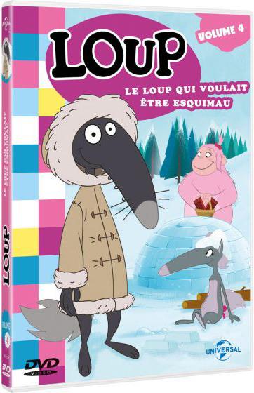 Loup : Le loup qui voulait être esquimau / Série animée de Paul Leluc et Wassim Boutaleb    Leluc, Paul. Metteur en scène ou réalisateur