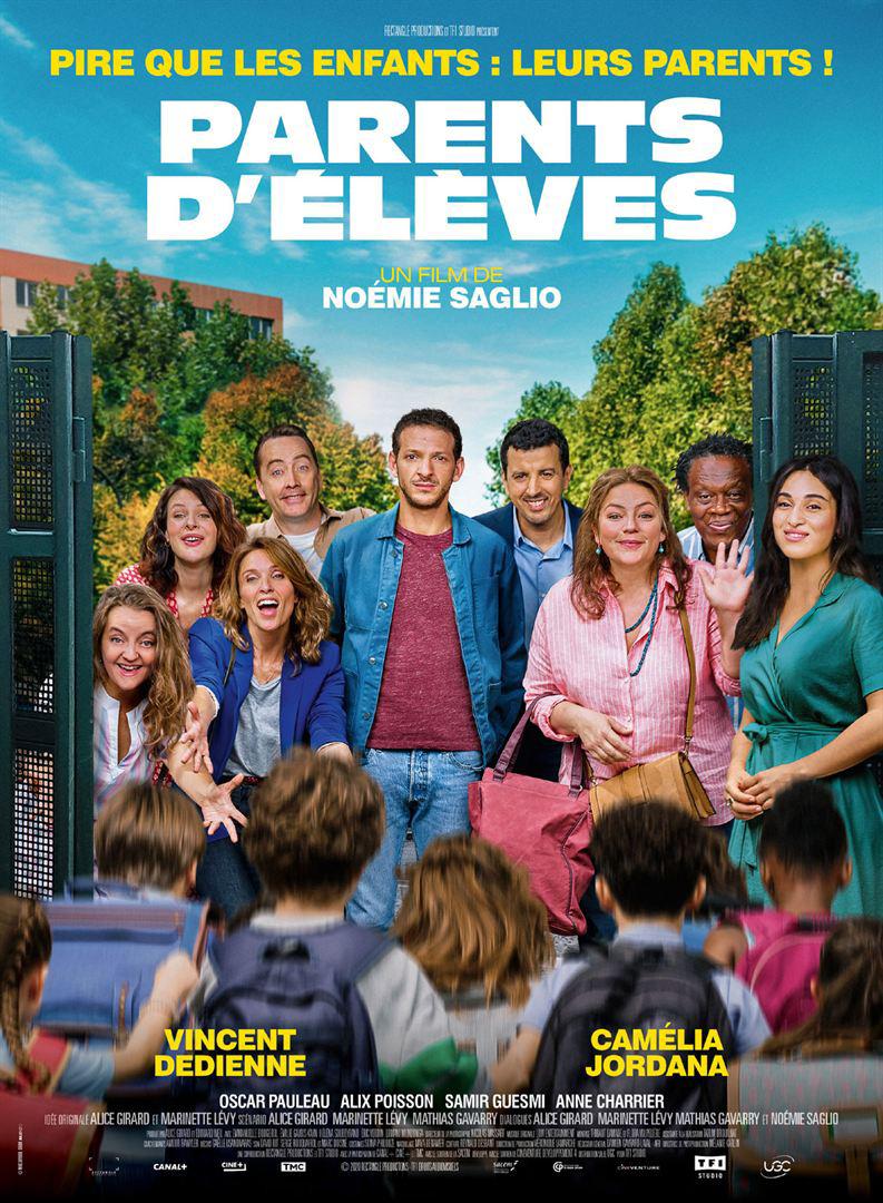 Parents d'élèves / Film de Noémie Saglio  | Saglio, Noémie. Metteur en scène ou réalisateur. Scénariste