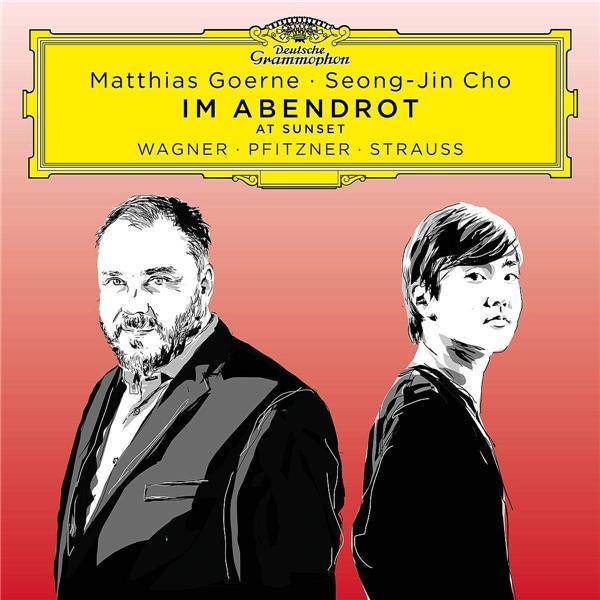 Im Abendrot = At Sunset / Richard Wagner, Hans Pfitzner, Richard Strauss | Wagner, Richard (1813-1883). Compositeur