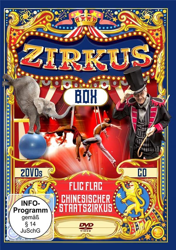 Zirkus box | Flic Flac. Musicien