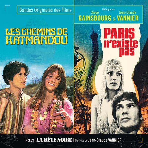 Les chemins de Katmandou - Paris n'existe pas - La bête noire   Serge Gainsbourg (1928-1991). Compositeur