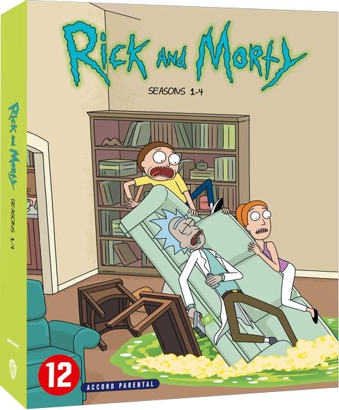 Rick et Morty. saison 3 & 4 / Dan Harmon |
