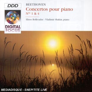 VAN BEETHOVEN - CONCERTOS POUR PIANO N 1 & 4 : CLA 398